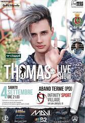 Thomas live show - thomas in concerto