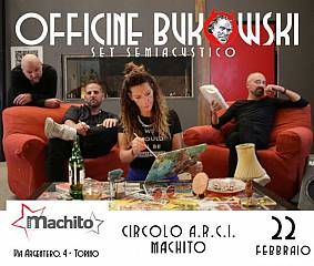Officine bukowski live @arci machito