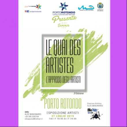 """Portorotondo """"le quai des artistes 3^edizione"""