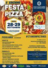 Quinta edizione festa della pizza
