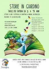 Storie in giardino: lettura favole per bambini da 1 a 3 anni