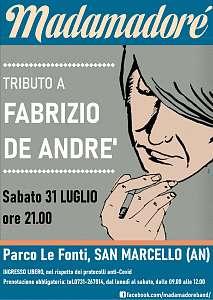 Madamadore' in concerto (tributo a fabrizio de andre')