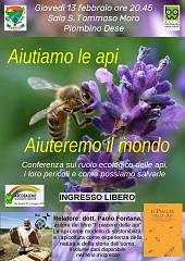 Aiutiamo le api, aiuteremo il mondo