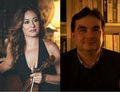 Al gonfalone un concerto dedicato al duo violino-viola