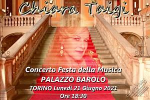 Chiara taigi - concerto  festa della musica 2021 palazzo barolo � piano m  geno't - torino