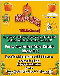 Festa della zucca  tribano (pd)