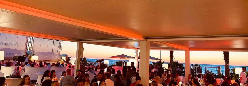 L'aperitivo al tramonto all'albertini beach club di cinisi: la domenica a magaggiari