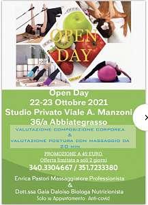 Open day studio