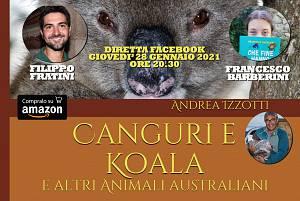Canguri e koala e altri animali australiani con filippo fratini e francesco barberini