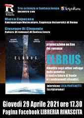 Presentazione online romanzo elbrus