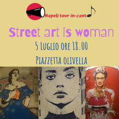Street art is woman