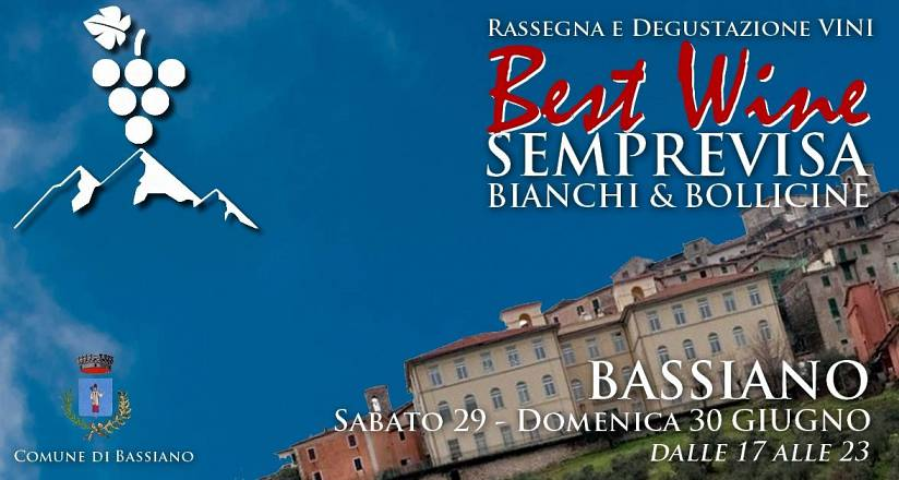 Best wine 2019 - edizione semprevisa - bassiano