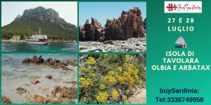 Isola di tavolara e dintorni: 27 e 28 luglio