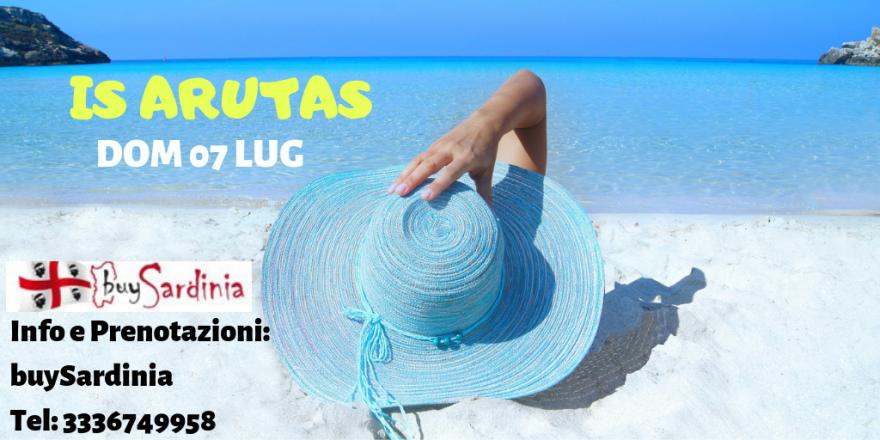 Tour delle spiagge con buysardinia | 1° tappa is arutas | dom 07 lug