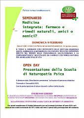 Seminario: medicina integrata: farmaco e rimedi naturali