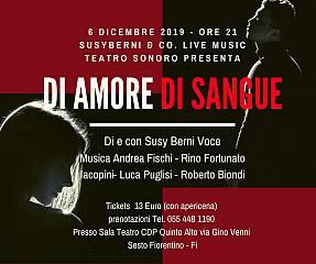 Susy berni & co. music live presenta di amore di sangue