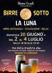 Birre sotto la luna