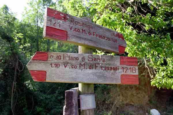 Escursione guidata sentiero dell'aquila