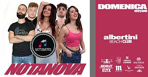 Domenica 02|08 � albertini beach club la domenica italiana notanova in concerto